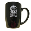Black Route 66 Coffee Mug